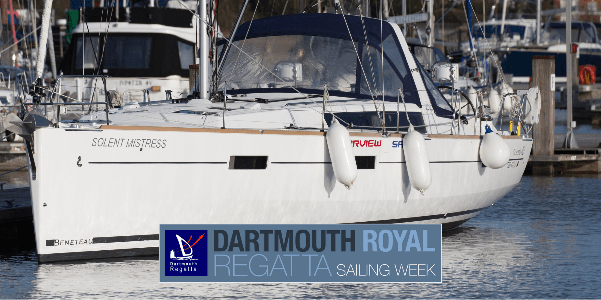 Dartmouth Sailing Week Blog Header